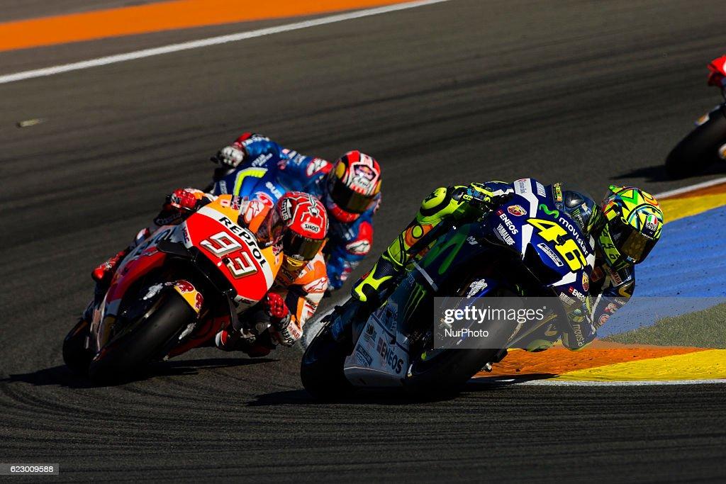 Comunitat Valenciana Grand Prix - Moto GP : News Photo