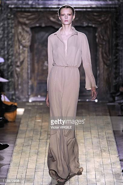 c21589ab7d3 Valentino Show Runway Paris Haute Couture Fashion Week Spring/Summer 2011  in Paris France on