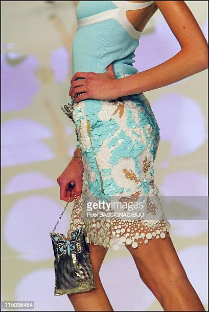 Valentino spring-summer 2004 ready-to-wear collection in Paris, France on October 12, 2003.