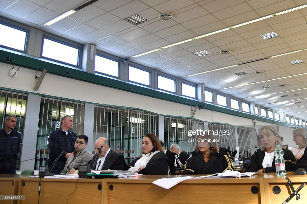ITALY-JUSTICE-TRIAL-AIDS : News Photo