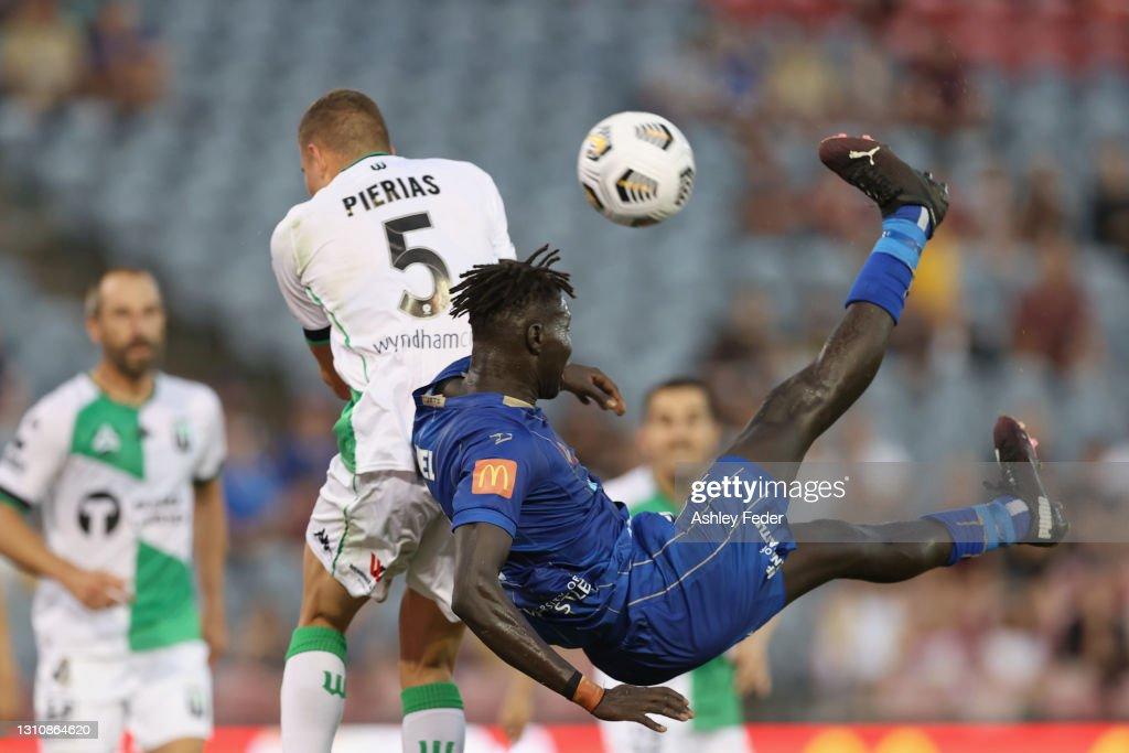 A-League - Newcastle Jets v Western United FC : ニュース写真