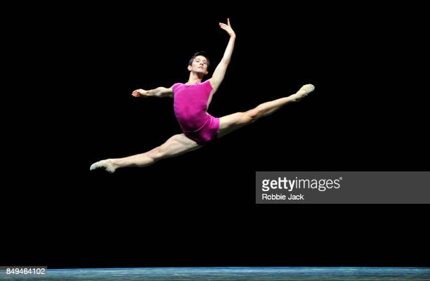 Valentino Zucchetti in the Royal Ballet's production The Vertiginous Thrill of Exactitude at Hull New Theatre on September 15 2017 in Hull England