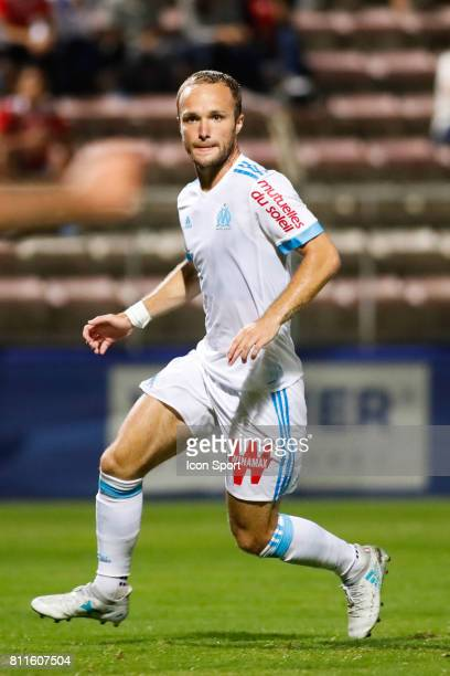 Valere Germain of Marseille during the friendly match between Olympique de Marseille and Etoile Sportive du Sahel on July 9 2017 in Martigues France