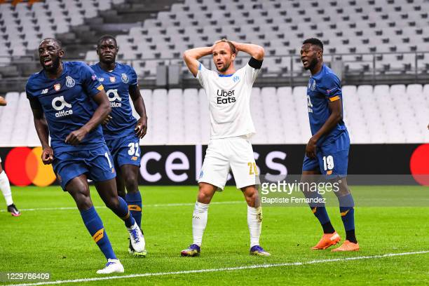 Valere GERMAIN of Marseille looks dejected during the UEFA Champions League match between Marseille and Porto at Orange Velodrome on November 25,...