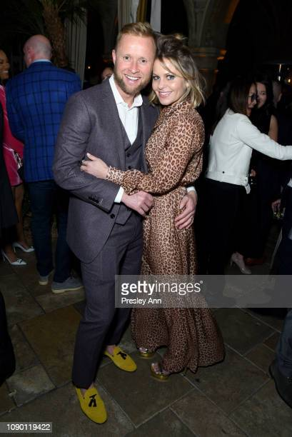 Valeri Bure and Candace Cameron-Bure attend Entertainment Weekly Celebrates Screen Actors Guild Award Nominees sponsored by L'Oreal Paris, Cadillac,...