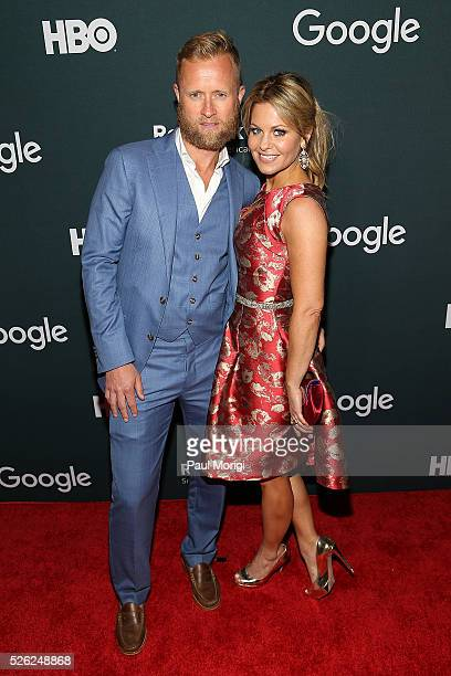 """Valeri Bure and Candace Cameron-Bure attend the Google/HBO celebration of """"All The Way"""" during White House Correspondents' weekend at the Renwick..."""