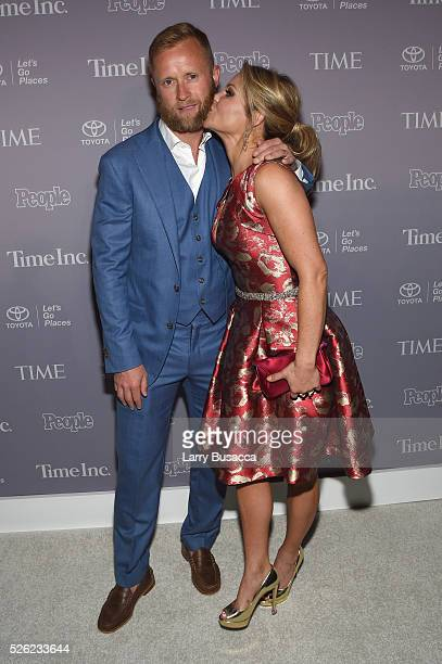 Valeri Bure and Candace Cameron-Bure attend TIME and People's Annual White House Correspondents' Association Cocktail Party at St Regis Hotel on...