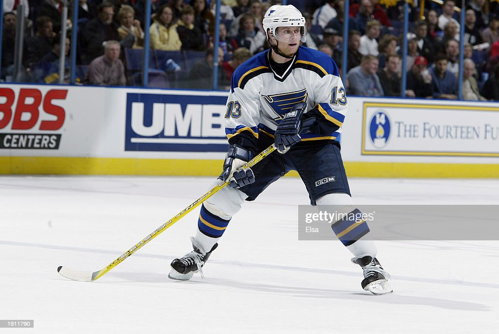 Oilers v Blues  : News Photo