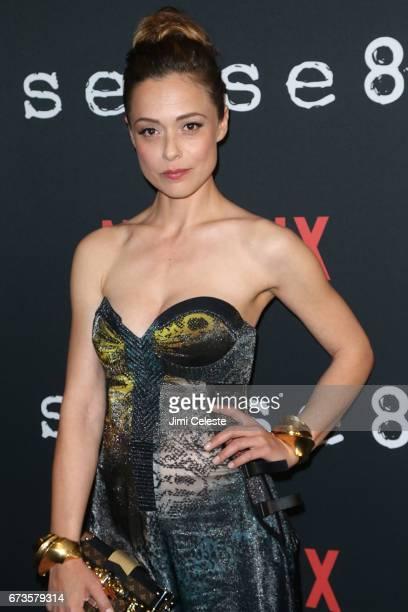 Valeria Bilello attend the Season 2 Premiere of Netflix's 'Sense8' at AMC Lincoln Square Theater on April 26 2017 in New York City