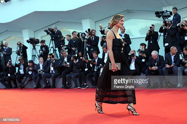 Valeria Bilello attends a premiere for 'Remember' during the 72nd Venice Film Festival at Sala Grande on September 10 2015 in Venice Italy
