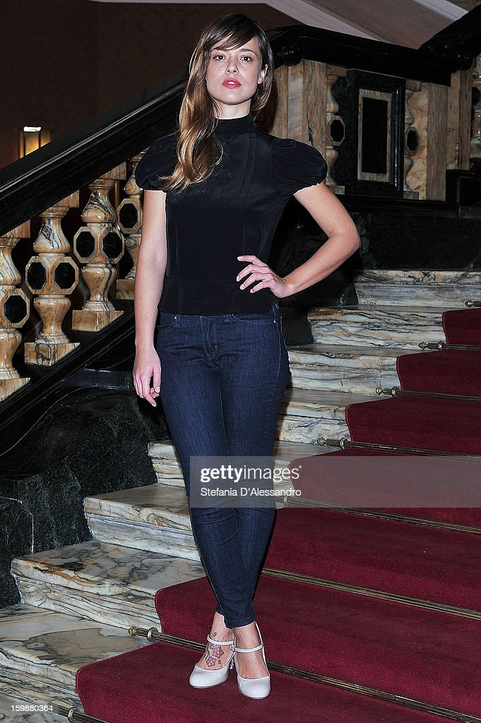 Valeria Bilello attends 'Pazze di Me' Photocall held at Cinema Odeon on January 22, 2013 in Milan, Italy.