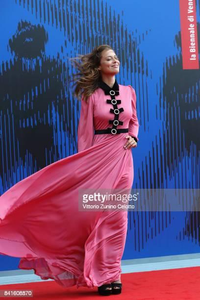 Valeria Bilello attends the Franca Sozzani Award during the 74th Venice Film Festival on September 1 2017 in Venice Italy