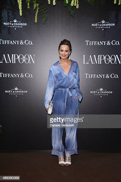 Valeria Bilello attends the Lampoon Gala during the 72nd Venice Film Festival at Palazzo Pisani Moretta on September 3 2015 in Venice Italy