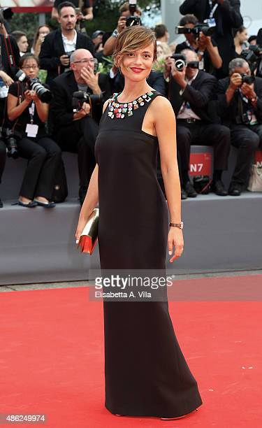 Valeria Bilello attends the opening ceremony and premiere of 'Everest' during the 72nd Venice Film Festival on September 2 2015 in Venice Italy