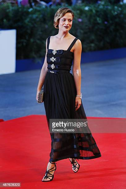 Valeria Bilello attends the Remember premiere during the 72nd Venice Film Festival at Sala Grande on September 10 2015 in Venice Italy
