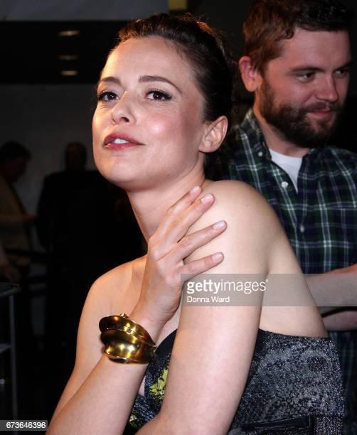 Valeria Bilello attends the Sense8 New York Premiere at AMC Lincoln Square Theater on April 26 2017 in New York City