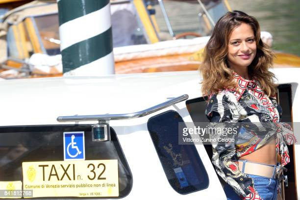 Valeria Bilello is seen during the 74th Venice Film Festival on September 2 2017 in Venice Italy