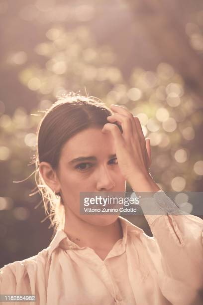 Valeria Bono poses during the 14th Rome Film Festival on October 23 2019 in Rome Italy