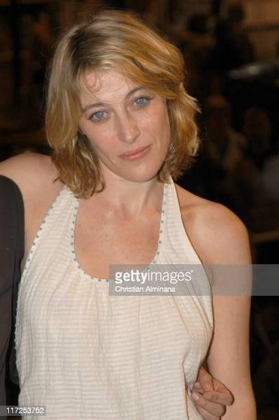 Valeria Bruni Tedeschi during 2005 Cannes Film Festival La Temps Qui Reste Premiere in Cannes France