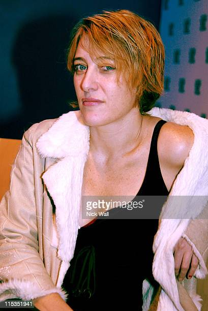 Valeria BruniTedeschi during The Times BFI London Film Festival 2004 '5x2' French Gala at Odeon West End in London Great Britain