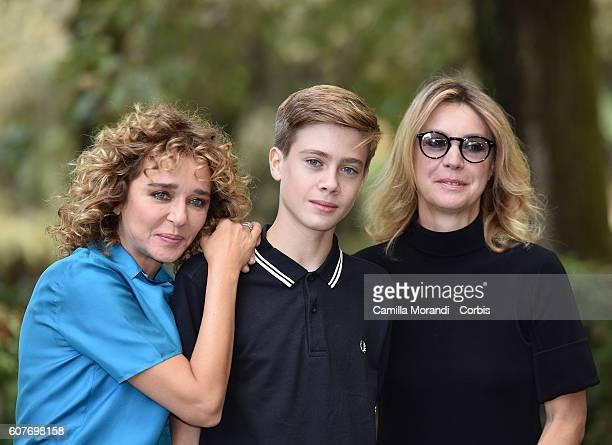 Valeria Golino Andrea Pittorino and Margherita Buy attend a photocall for 'La Vita Possibile' on September 19 2016 in Rome Italy