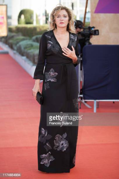Valeria Golino arrives at the Award Ceremony during the 45th Deauville American Film Festival on September 14, 2019 in Deauville, France.