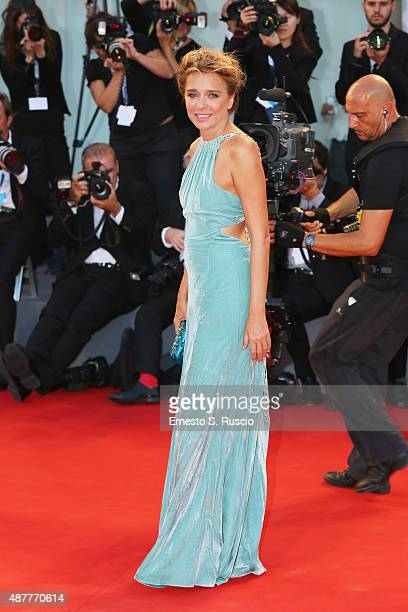 Valeria Golino attends a premiere for 'Per Amor Vostro' during the 72nd Venice Film Festival at Sala Grande on September 11 2015 in Venice Italy