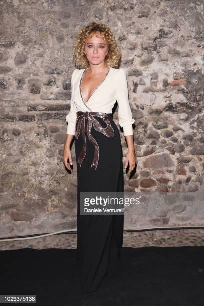 Valeria Golino attends Celebrity Fight Night at Arena di Verona on September 8 2018 in Verona Italy