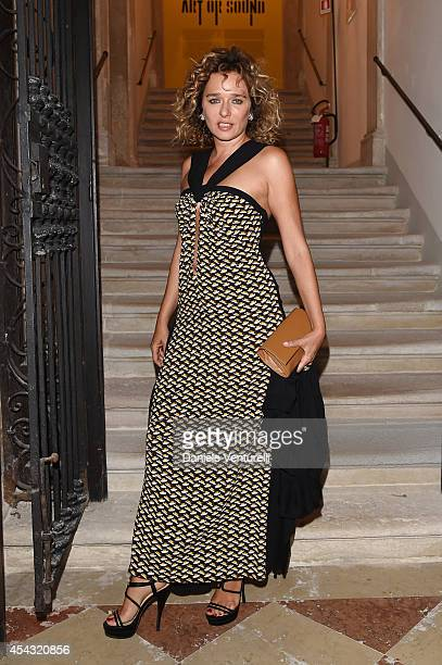 Valeria Golino attends Miu Miu Women's Tales Dinner at Ca' Corner della Regina on August 28 2014 in Venice Italy