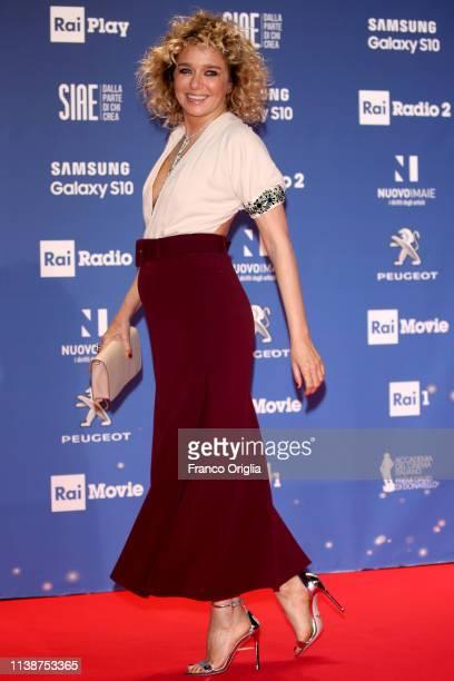 Valeria Golino attends the 64 David Di Donatello awards on March 27 2019 in Rome Italy