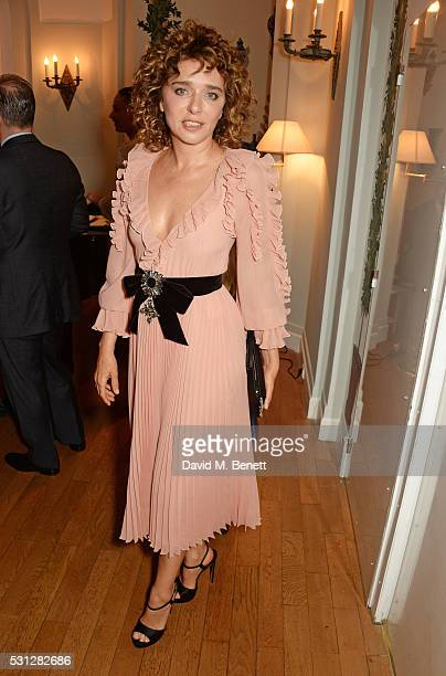 Valeria Golino attends The 8th Annual Filmmakers Dinner hosted by Charles Finch and JaegerLeCoultre at Hotel du CapEden Roc on May 13 2016 in London...