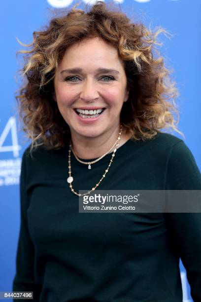 Valeria Golino attends the 'Controfigura' photocall during the 74th Venice Film Festival at Sala Casino on September 8 2017 in Venice Italy