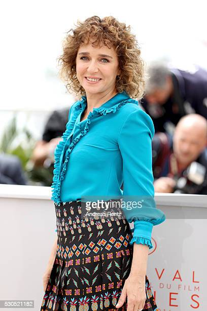 Valeria Golino attends the Jury Photocall during the 69th Annual Cannes Film Festival at the Palais des Festivals on May 11 2016 in Cannes France