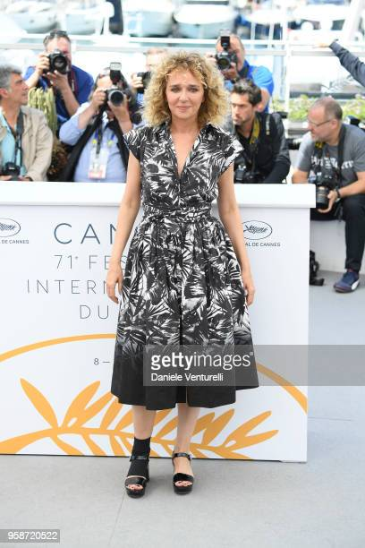 Valeria Golino attends the photocall for Euforia during the 71st annual Cannes Film Festival at Palais des Festivals on May 15 2018 in Cannes France