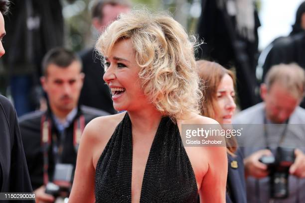 Valeria Golino attends the screening of Portrait Of A Lady On Fire during the 72nd annual Cannes Film Festival on May 19 2019 in Cannes France