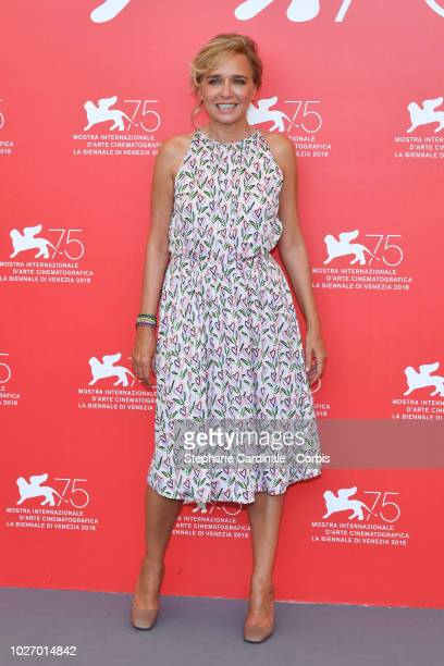 Valeria Golino attends The Summer House photocall during the 75th Venice Film Festival at Sala Casino on September 5 2018 in Venice Italy