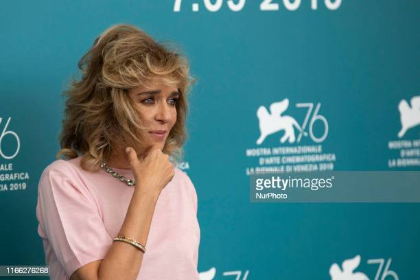 Valeria Golino attends the ''Tutto il mio folle amore'' Photocall during the 76th Venice Film Festival at on September 06, 2019 in Venice, Italy.