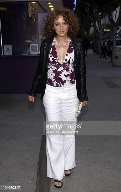 Valeria Golino during Sony Pictures Classics and Venice Magazine's Premiere For Respiro at Laemmle's Monicas in Santa Monica California United States