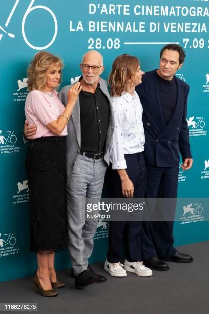 Valeria Golino, Gabriele Salvatores, Giulio Pranno and Claudio Santamaria attend the ''Tutto il mio folle amore'' Photocall during the 76th Venice...