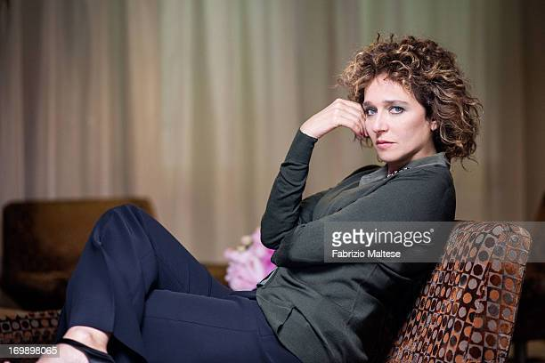 Valeria Golino is photographed for Self Assignment on May 20 2013 in Cannes France