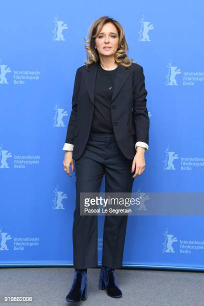 Valeria Golino poses at the 'Daughter of Mine' photo call during the 68th Berlinale International Film Festival Berlin at Grand Hyatt Hotel on...