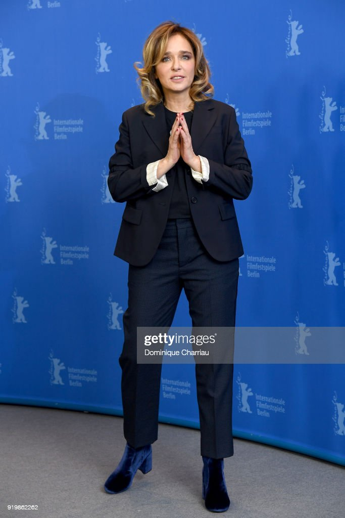 Valeria Golino poses at the 'Daughter of Mine' (Figlia Mia) photo call during the 68th Berlinale International Film Festival Berlin at Grand Hyatt Hotel on February 18, 2018 in Berlin, Germany.