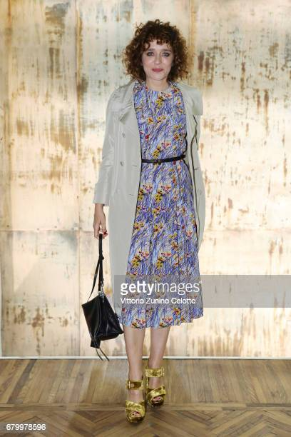 Valeria Golino while attending the Prada Resort 2018 Womenswear Show in Osservatorio on May 7 2017 in Milan Italy