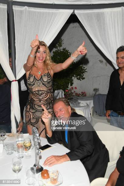 Valeria Marini and Armand Assante attend 2017 Ischia Global Film Music Fest on July 12 2017 in Ischia Italy