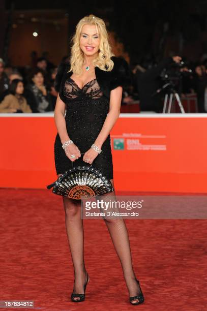 Valeria Marini attends 'Racconti D'Amore' Premiere during The 8th Rome Film Festival on November 12 2013 in Rome Italy