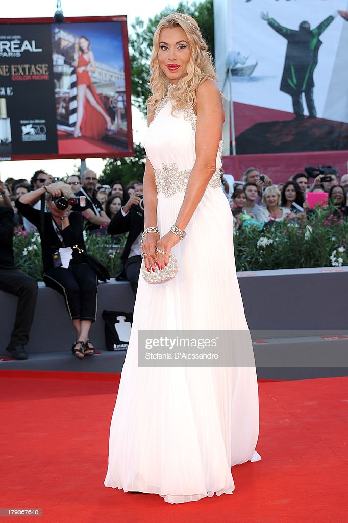 Valeria Marini attends the 'The Zero Theorem' Premiere during the 70th Venice International Film Festival at Sala Grande on September 2, 2013 in Venice, Italy.