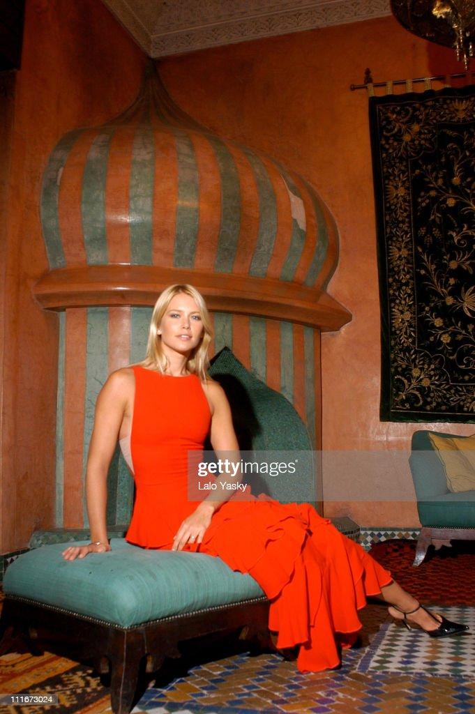 Supermodel Valeria Mazza Vacations in Morocco