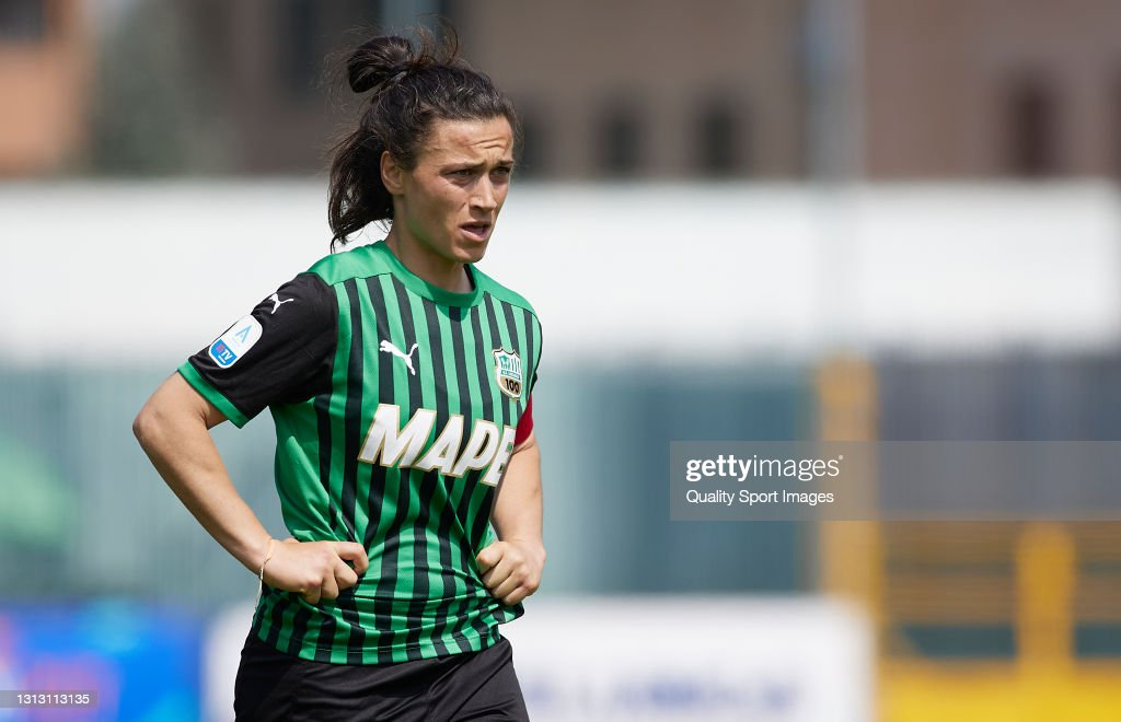 Valeria Pirone of US Sassuolo looks on during the Women Serie A match...  News Photo - Getty Images