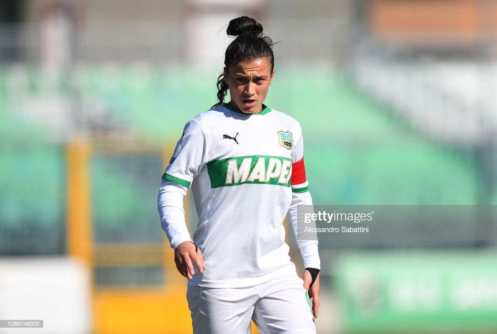 Valeria Pirone of US Sassuolo Woman looks on during the Women Serie A...  News Photo - Getty Images