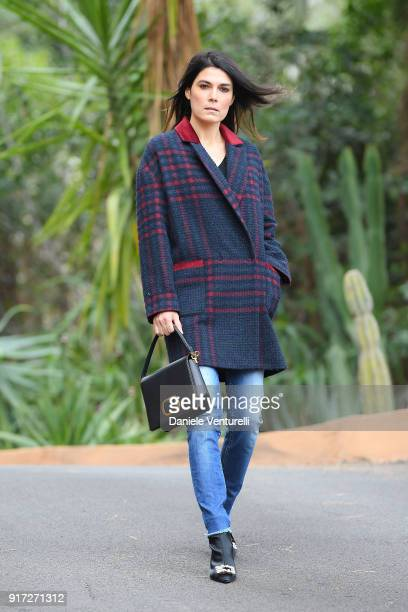 Valeria Solarino attends a photocall on the first day of the 68 Sanremo Music Festival on February 6 2018 in Sanremo Italy